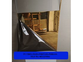 PLAT STAINLESS MIRROR GOLD