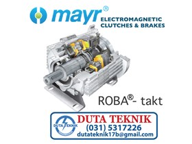 Mayr Electromagnetic Clutches & Brakes -- ROBA Takt