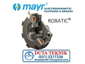 Mayr Electromagnetic Clutches & Brakes -- ROBA Robatic