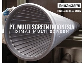 Pipa Screens Johnson Screen 6in low carbon