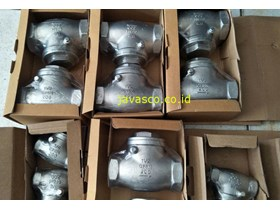 Swing Check Valve Stainless Steel Screw