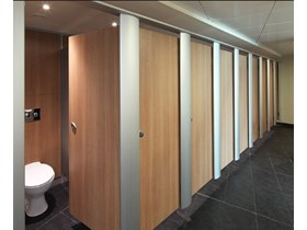 DISTRIBUTOR TOILET CUBICLE PARTISION