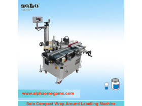 Solo Compact Wrap Around Labelling Machine