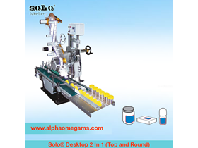 SOLO Two in One Labeling Machine (Top and Round)
