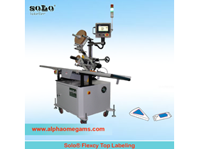 SOLO Flexcy Top Labeling Machine
