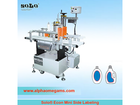 SOLO Econ Mini Side Labeling Machine