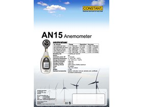 Anemometer Constant AN15