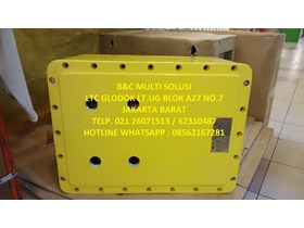 box panel bahan stainless