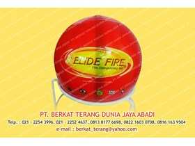 FIRE EXTINGUISHING BALL Merk Elide Fire ( Original dan Bersertifikat )