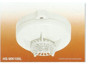 FIRE ALARM SYSTEM HS WK100L FIXED TEMPERATURE HEAT DETECTOR