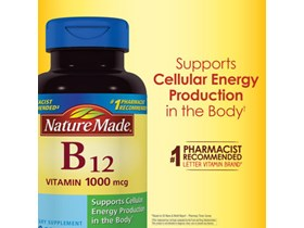 Nature Made Vitamin B12 1000 mcg., 400 Softgels.