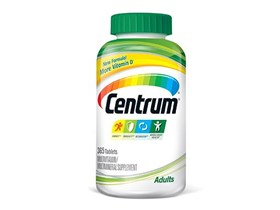 Centrum Adults Multivitamin, 365 Tablets.