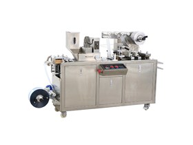 DPP80 Mini Type Automatic Blister Packing Machine for chocolate and butter and jam