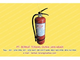 FIRE EXTINGUISHER 5 KG ABC Dry Powder Merk FIRERING