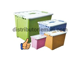 BOX CONTAINER ALPHA  8/15/25/40 Lt DULUXE