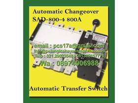 Automatic Changeover Switch 1250 Amp 4 Pole SAD-1250-4 Salzer