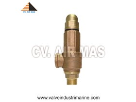 SAFETY VALVE SCREW BRASS