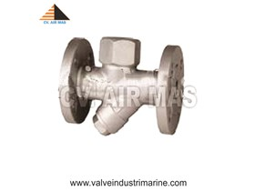 STEAM TRAP FLANGE END