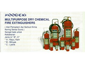 MULTIPURPOSE DRY CHEMICAL FIRE EXTINGUISHERS