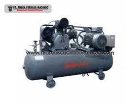 KOMPRESOR ANGIN ATAU AIR COMPRESSOR MERK HITACHI BEBICON