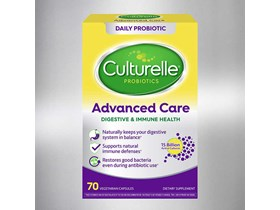 Culturelle Advanced Care Digestive & Immune Health Probiotic, 70 Vegetarian Capsules.