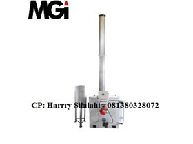 Single Burner Incinerator Cap. : 17 to 25 kg/jam (200 kg/hari) c/w scrubber