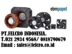Jual Fan Blower EBM | PT.FELCRO INDONESIA | 0811.155.363