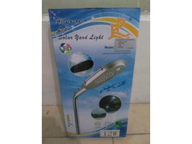LAMPU PJU ALL IN ONE SOLAR LED 12 WATT