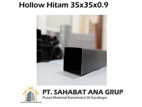 Hollow Hitam 35x35x0.9