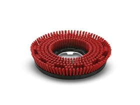 Scrubber & Polisher Accessories - Disk brush 430 mm, Red
