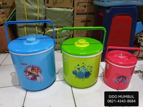 Rice Bucket Rantang Tunggal Thermo Plastik Maspion