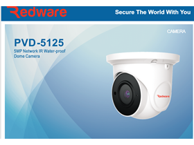 Dome Camera Redware PVD-5125
