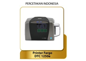 Printer Card HID FARGO DTC1250e Printer Kartu Satu Sisi dan dua sisi