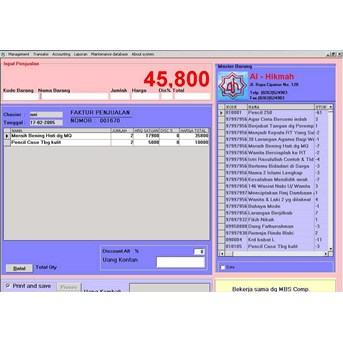 POS, INVENTORY SYSTEM, KASIR, ACCOUNTING SYSTEM