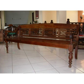 LG 06. Original Teak Bench - Sofa Jati