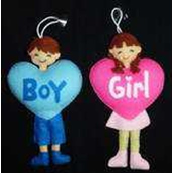 Knop Boy & Girl