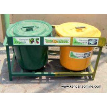 Tempat Sampah Berseka® Classified Trash Bin [ B]