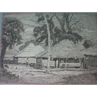 Village (Ink Painting)
