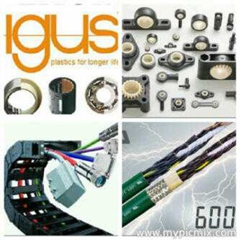 igus-Energy Chain System; Cable Chain; Cable Veyor; Power Transmission; Electric Motor; Roller Chain; Cable Flexible; Cable Glands PG 63; Flexible Conduit