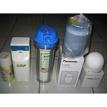 Filter air/Water clean,Filter cartridge, Pengharum ruangan dll