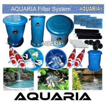 Aquaria Filter Kolam Fiberglass AQUARIA Fiberglass Pond Filter
