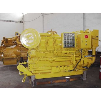 Used Caterpillar 3512 and D398 marine engine