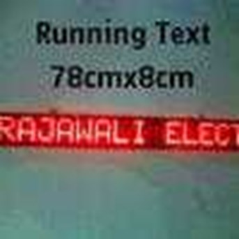 led display/ moving sign display/ running text