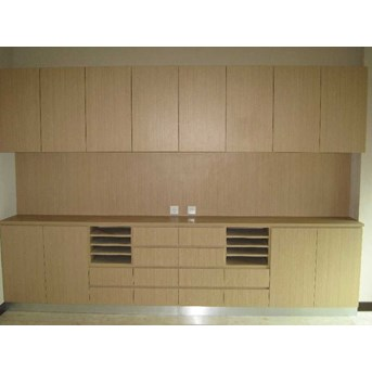 Copier Cabinet with Hanging Cabinet