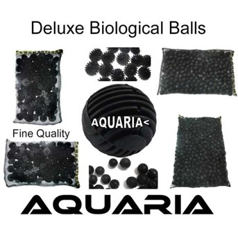 AQUARIA High Quality Deluxe Bioball Filter AQUARIA Deluxe Bioball Biological Filter Media