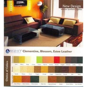 SOFA CLEMENTINE, BLOSSOM, ESTE LEATHER
