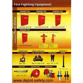 Fire Fighting | Fire Hydrant System Equipment | Box Fire Hydrant System | Coupling Machino | Valve Hydrant | Hydrant Valve | Hose Rack | Jet Nozle Fire Hydrant | Spray Nozzle | Fire Hydrant Equipment | Fire Hose