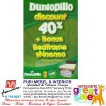 DUNLOPILLO MATTRESS LATEX BED / KASUR LATEX
