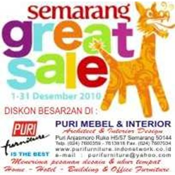PURI FURNITURE SEMARANG GREAT SALE