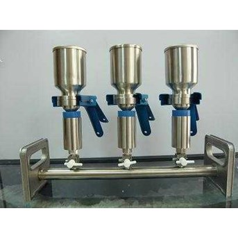 Multi-Branch Stainless Steel Manifold Filter Holder
